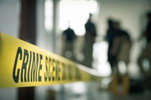 Tatort Absperrband nicht betreten Totzauer aus Düsseldorf