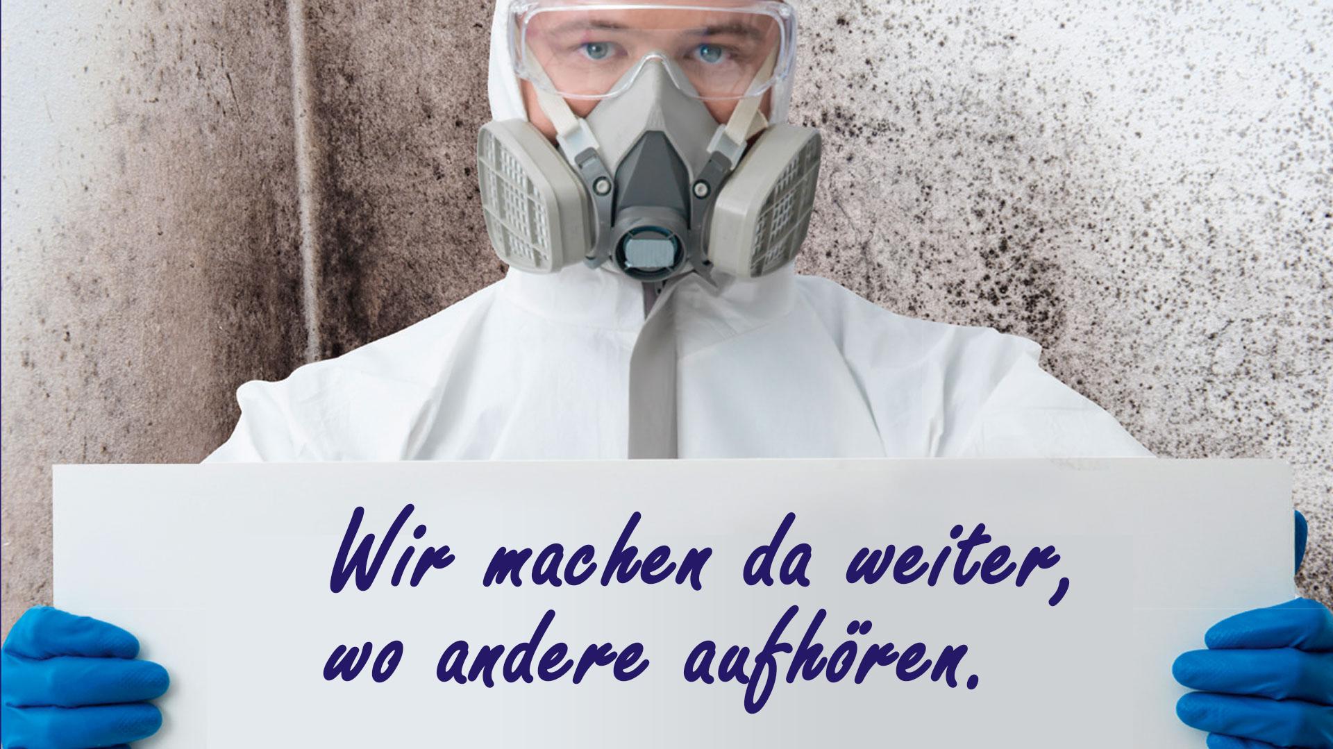 Dekontamination bei Totzauer